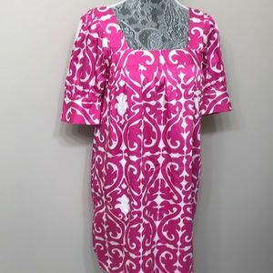 SALE Milly women's pink / white dress size 6